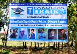 Banner sang aktivis